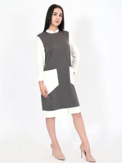 Платье 9 Серый