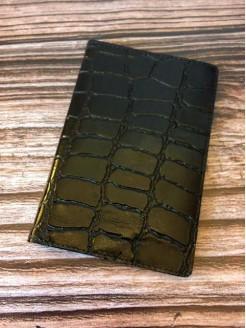 Обложка  Lucky Exclusive Крокодил Черный