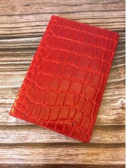 Обложка  Lucky Exclusive Крокодил Красный