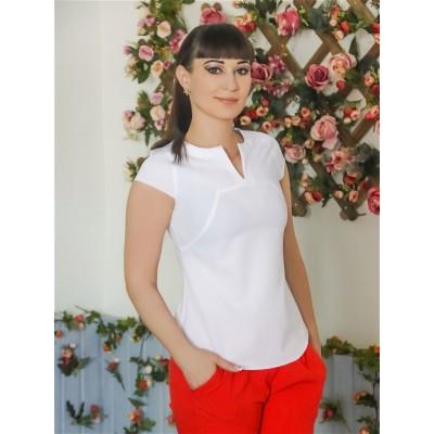 Блузка 8 Белый