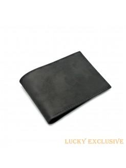 Портмоне Lucky Exclusive Сахара 4 Черный крейзи